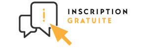 Inscription sur confirmation. Pensez à imprimer votre e-badge pour nous faciliter votre accueil