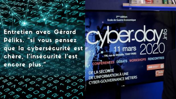 """Entretien avec Gérard Péliks. """"si vous pensez que la sécurité est chère, l'insécurité l'est encore plus."""""""