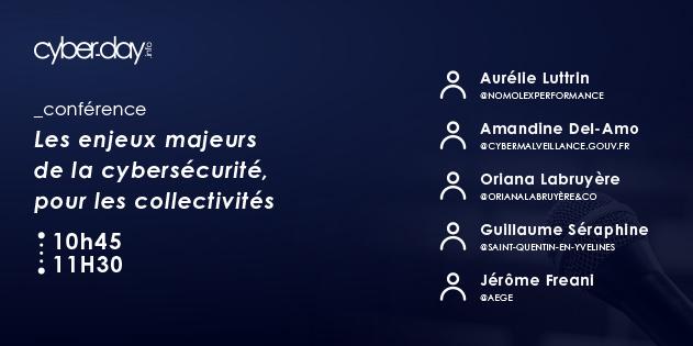 Les enjeux majeurs de la cybersécurité, pour les collectivités