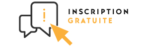 Inscription gratuite sur présentation de l'e-badge imprimé