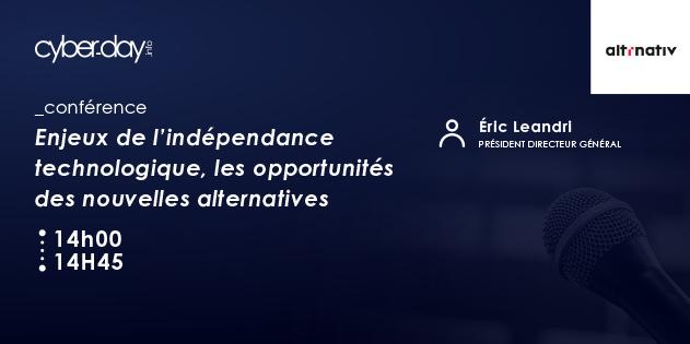 Enjeux de l'indépendance technologique, les opportunités des nouvelles alternatives