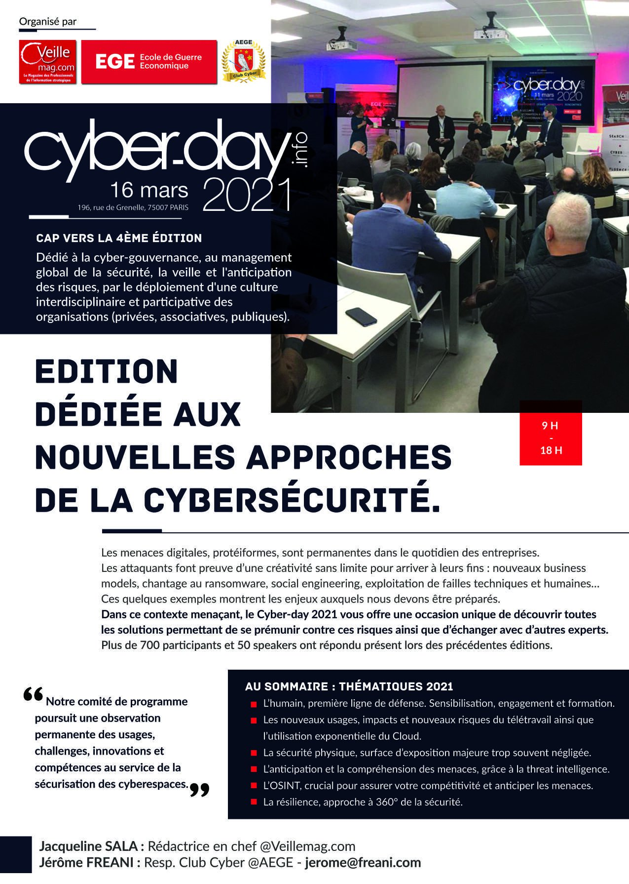 Cyberday, votre événement