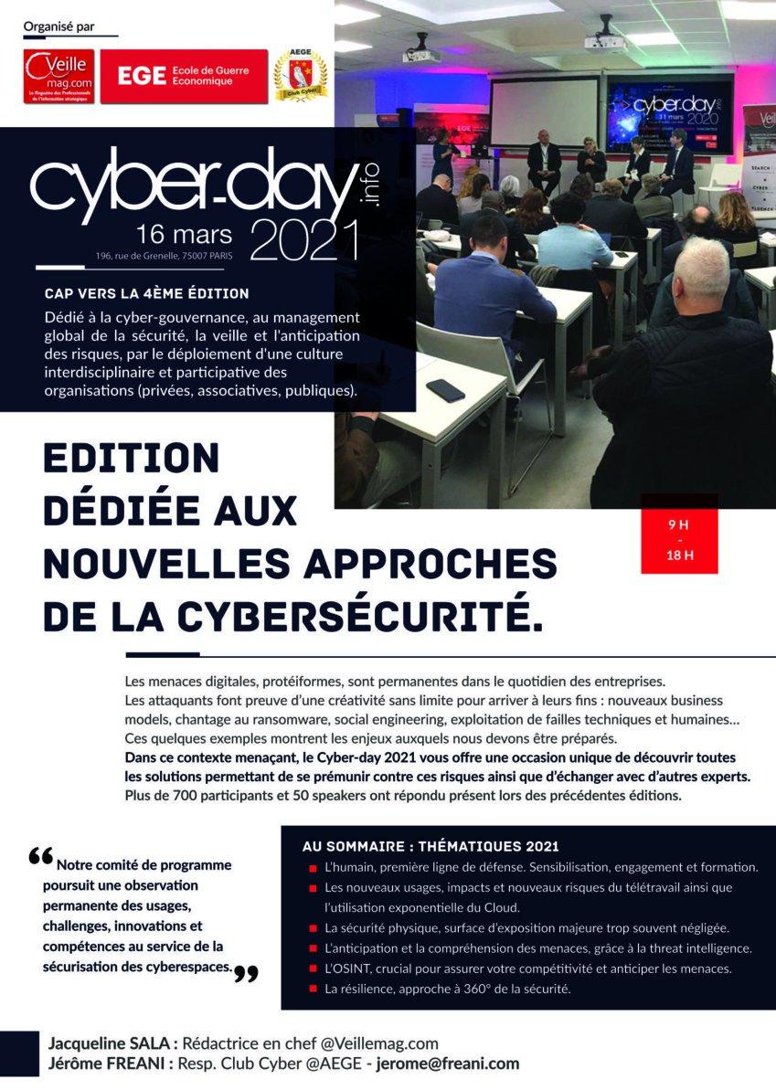Plaquette présentation Cyber-day 2021