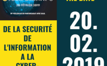 Save the date #Cyberday.info. Mercredi 20 février 2019. www.cyber-day.info - Inscriptions ouvertes -