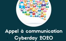 Je réponds à l'appel à communication #Cyberdayinfo