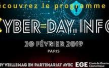 Découvrez le programme  Conférences Thématiques #Cyberday 20 février 2019.