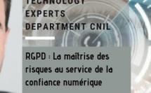 #Cyberday. 11h45. Rencontre avec Matthieu GRALL. Head of technology experts department CNIL. Le RGPD : la maîtrise des risques au service de la confiance numérique.
