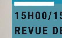 15h00/15h45. Workshop. Revue de detail sur les dispositifs, règlements et normes. Pour quoi ? Pour qui ? Comment ? Xavier Filiu