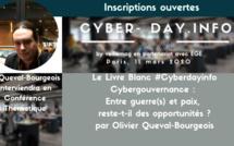 #cyberdayinfo. Cybergouvernance : Entre guerre(s) et paix, reste-t-il des opportunités ?