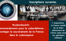 #cyberdayinfo. Commandement pour la cyberdéfense : protéger la souveraineté de la France dans le cyberespace