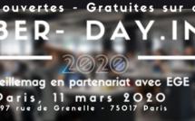 Cyberday.info déroule son programme de conférences thématiques et de workshops/master class. Rendez-vous le 11 mars 2020. Inscription gratuite.