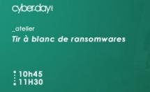 Tir à blanc de ransomwares